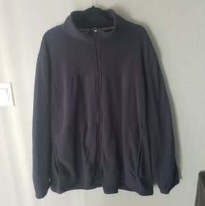 {STARTER} Men's Faux Fleece Zip Up Jacket
